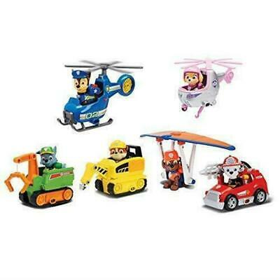 Paw Patrol Ultimate Rescue Rubble, Chase, Marshall, Skye, Rocky Figure Playset