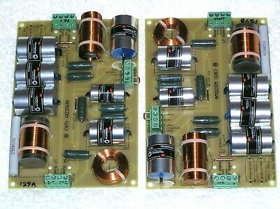 PAIR 'ESA' CROSSOVERS for Tannoy Monitor Gold or HPD315 or HPD385 Speakers
