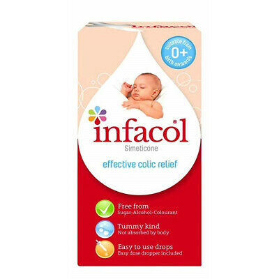 Infacol Colic Relief Drops 50ml, Relieves Wind, Infant Colic & Griping Pain