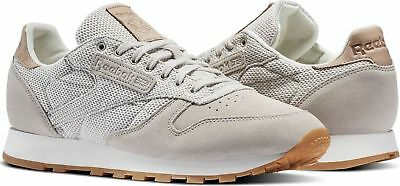 on sale 16ea6 5854e Reebok Classic Leather EBK Men s Trainers Running Shoes - BS7850 - Grey