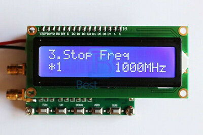 Digital LCD RF Signal Generator 140MHz-4.4GHz Frequency with Sweep Function