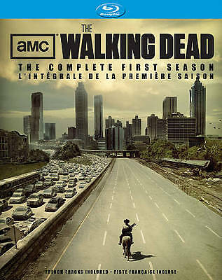 Walking Dead: The Complete First Season (Blu-ray Disc, 2011, Canadian)