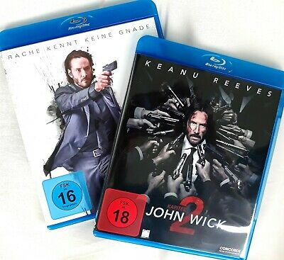 BluRay John Wick Teil 1+2