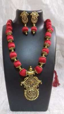 """Indian Durga Maa Pendant Gold Plated 8/"""" Long Chain God Amulet Religious Necklace"""