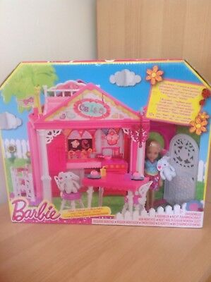 Bnib Barbie Chelsea Clubhouse Playset With Doll - Brand New & Sealed