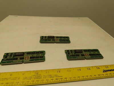 Fanuc A20B-2900-0380/06C Servo Interface For PMC Programmer Lot of 3