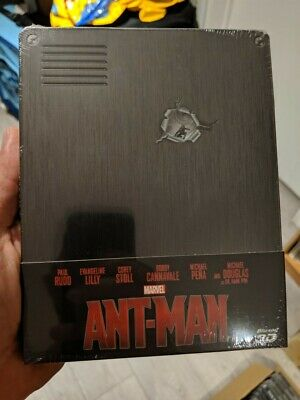 Ant-Man - Limited Edition Steelbook (Blu-ray 2D/3D) BRAND NEW!! MARVEL