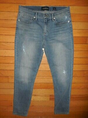 Womens Lucky Brand Brooke Crop Ankle Jeans Blue Stretch  8/29 size 8 29