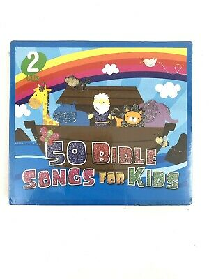 100 BIBLE SONGS 4 Kids, Over 3 Hours of Music! 4-CD Set by