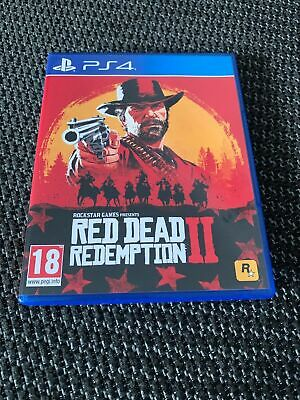 Excellent  Condition ( Red Dead Redemption 2 ) Played Once  Ps4  Game