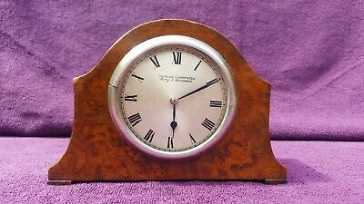 Vintage Antique Edwardian Thurlow Champness Mantel Clock Spares/Repairs c1910