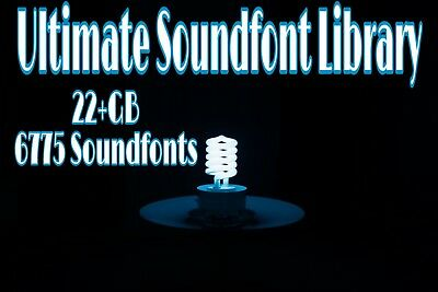 20+GB Soundfont Library | 6775+ Soundfonts | MAC+PC WAV