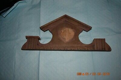 Wall Clock Topper finial set of 1 for project