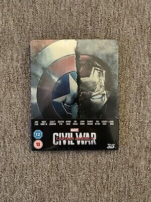 Captain America Civil War Ltd Edition 3D Blu Ray Steelbook