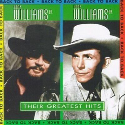 Their Greatest Hits by Hank Williams/Hank Williams, Jr. (CD, 1994, Rebound Recor