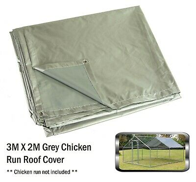 Bulhawk Waterproof Chicken Run Coop Cage Replacement Rain Roof Protector Cover