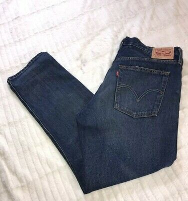 89900f6eb59 Levi's Womens Classic 501 Original Fit Straight Leg Button Fly Jeans 30x32  VGUC