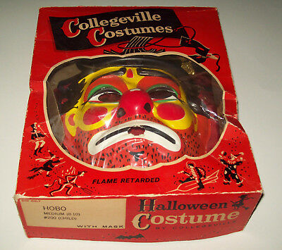 Vintage Halloween Costumes In A Box.Vintage 1950s Sea Hag Halloween Costume Complete With Box And Masks