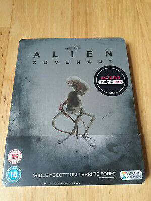 Alien Covenant Steelbook Limited Edition 4K & Bluray Brand New Sealed
