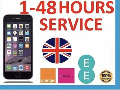 EE, Express Unlock Code service for iPhone 4-5-6-7   T-MOBILE,UK