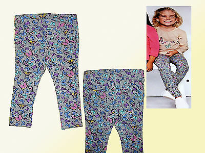 Toddler Girls Pant Leggings Stretch Trousers Briefs Size 74 Multicolour