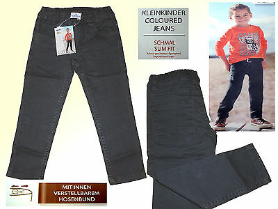 Grey Toddler Jeans Children's Trousers Young Jeans Narrow Size 74-98 New