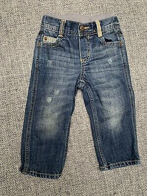 Genuine Kids from OshKosh Baby Boys Casual Jeans Size 18 Month blue/navy, cotton