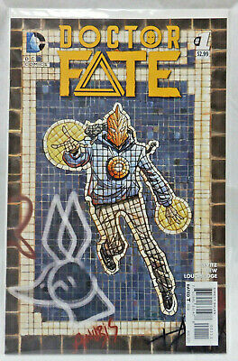 """COMIC BOOK """"Dr. Fate"""" No 1 Khalid Nassour 1st Appearance ( Doctor Fate )"""