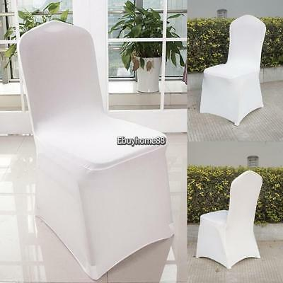 Phenomenal New 300Pcs Universal White Polyester Spandex Wedding Chair Squirreltailoven Fun Painted Chair Ideas Images Squirreltailovenorg