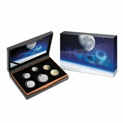 2019 Moon Landing 50th Anniversary Six Coin Proof Coin Set