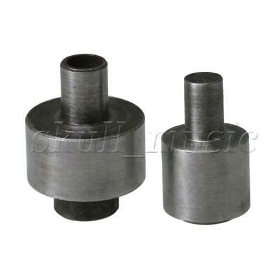 Silver Metal Eyelet Dies Mould for 1400# 17mm Electric Eyelet Setter Machine