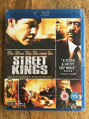 Street Kings [Bluray] uncut UK-Auflage, neu, ovp, Keanu Reeves, FSK 18