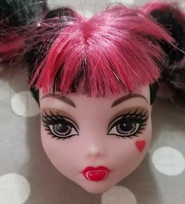 Monster High Doll Swim Class Draculaura Replacement Head Only For Ooak