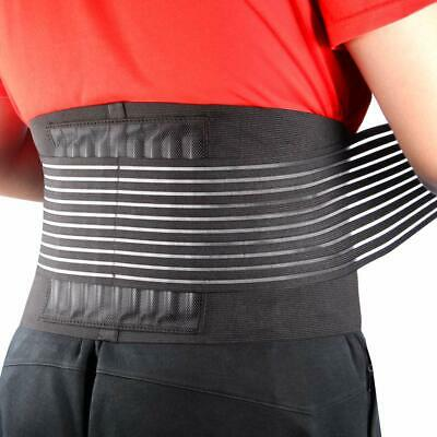 Lower Back Brace Pain Relief with Pulley System Support Belt for Women and Men A