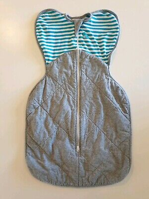 LOVE TO DREAM Swaddle Up sleeping bag warm sz Small 2.5 TOG cotton bamboo NWOT