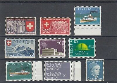 timbres helvetia suisse  neufs *