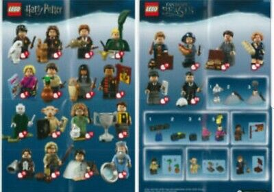 Lego minifigures harry potter all new with free tracking