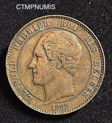 Module  10 Centimes   Leopold I°  Mariage  21 22 Aout  1853