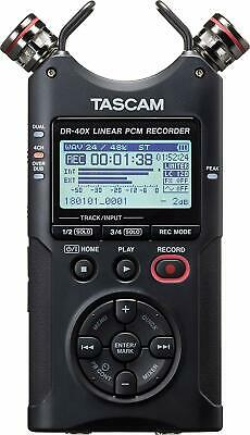 Tascam - DR-40X - Four-Track Audio Recorder mit USB Audio Interface