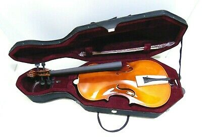 Student 3/4 Size Cello with Case, Antique Fade, by Gear4music-DAMAGED- RRP £199