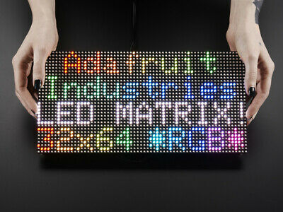Adafruit 64x32 RGB LED Matrix - 5mm pitch 2277