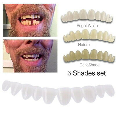 3 Shades Smile Instant Tooth Kit Temporary Teeth Bead Replacement DIY Dentistry