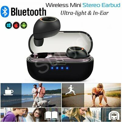 Mini Wireless Bluetooth Earbuds TWS Headphones For  iPhone Android Apple Airpods