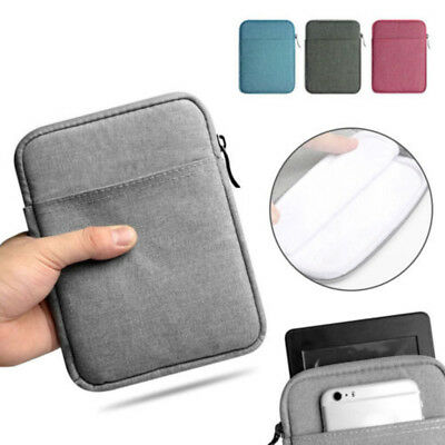 6'' Soft Sleeve Bag Case Cover Pouch for Kindle Paperwhite Tablet eReader #H4 AU