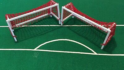 Subbuteo Accessories - Goals with Red Nets