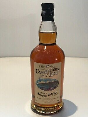 WHISKY CAMPBELTOWN LOCH 25 YEARS OLD BLENDED SCOTCH WHISKY SPRINGBANK 70cl. 40%