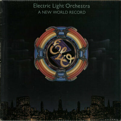 Electric Light Orchestra A New World Record - 1st UK vinyl LP album record
