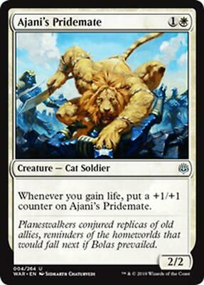 2x COMPAGNO DI AJANI - AJANI'S PRIDEMATE Magic WAR Mint
