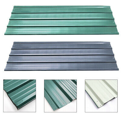 12X CORRUGATED ROOF Sheets 1290 x 450mm /7m² Roofing Wall