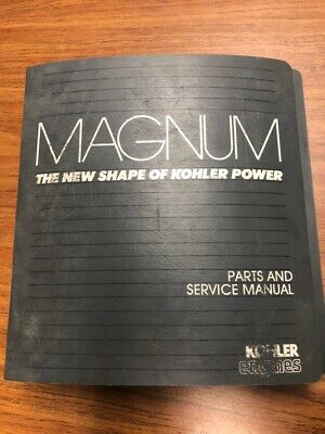 Kohler Magnum Twin Cylinder Engine Parts & Service Manual for MV16 & MV18